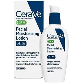Facial moisturizing lotion