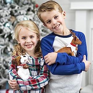 the elf on the shelf, elf pets, plush toy, plush animal, elf christmas, christmas plus