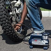 Inflator, tire inflator, ball inflator, portable inflator, compressor, 12 volt, digital inflator