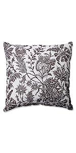 Pillow Perfect Cassie Tangerine Rectangular Throw Pillow