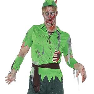 SMIFFY 46826 Hase Deluxe White Rabbit Alice Karneval Halloween Herren Kostüm