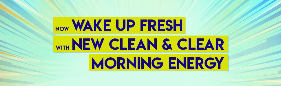 morning energy facewash Clean & Clear morning energy facewash, clean n clear