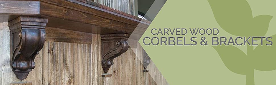 header pic with wood corbels supporting countertop
