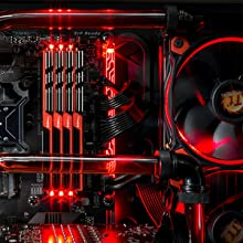 Red LED PC Internal