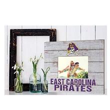 East Carolina Pirates Team Spirit Slat Frame