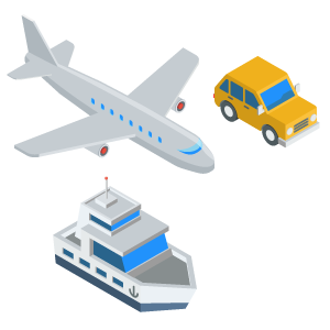 Motion sickness relief for road, air and sea travel.
