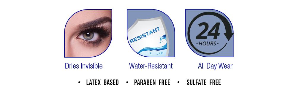 DUO Clear Fake StripLash Adhesive, 0.25 oz