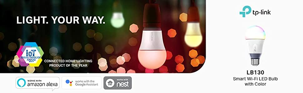 lb130 smart bulb many colors