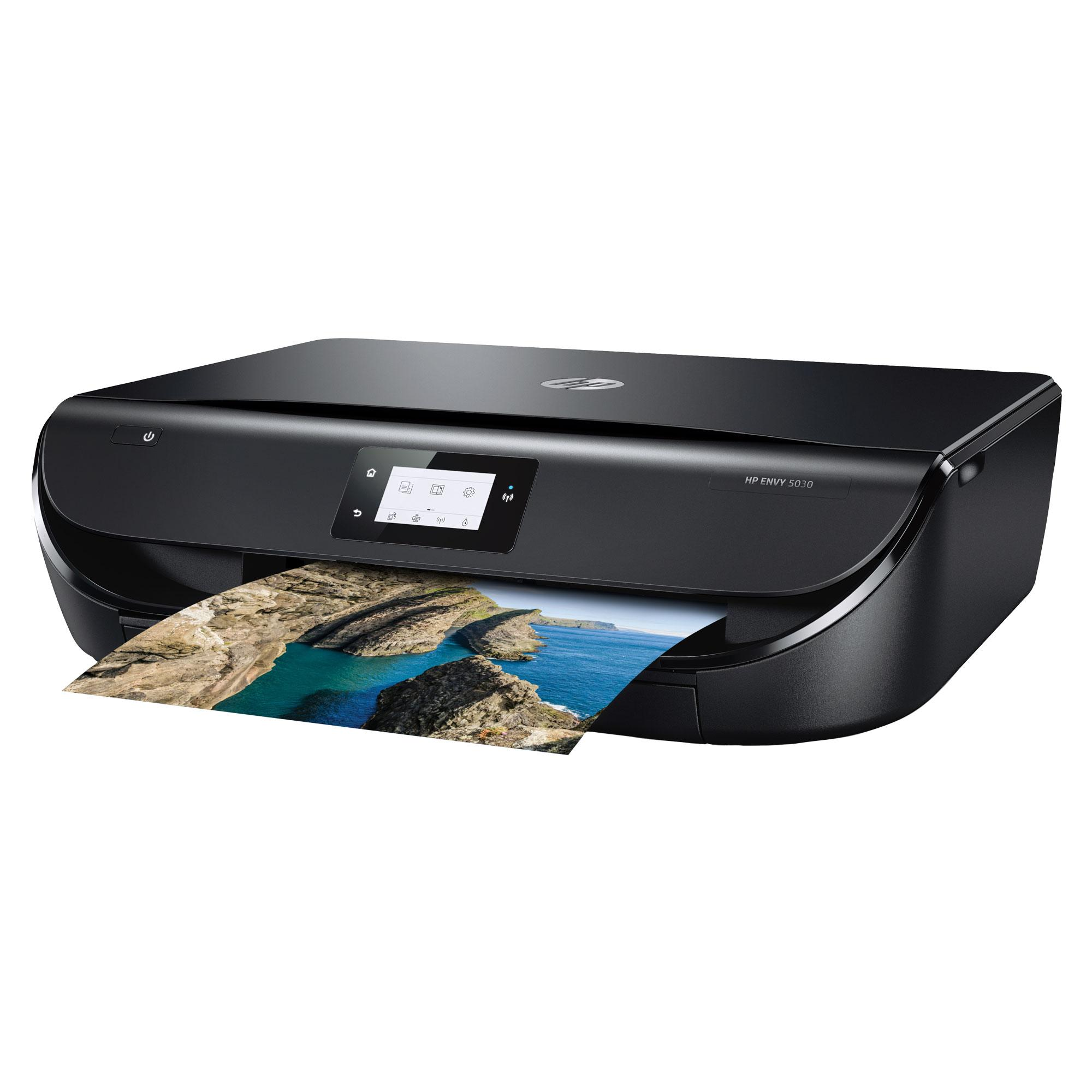 hp envy 5030 all in one printer 4 months instant ink trial black computers. Black Bedroom Furniture Sets. Home Design Ideas