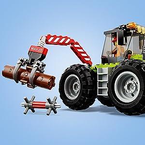 bambini, trattori, costruzioni
