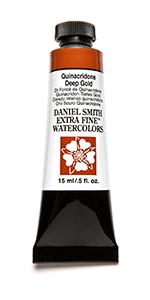 Daniel Smith Quinacridone Deep Gold