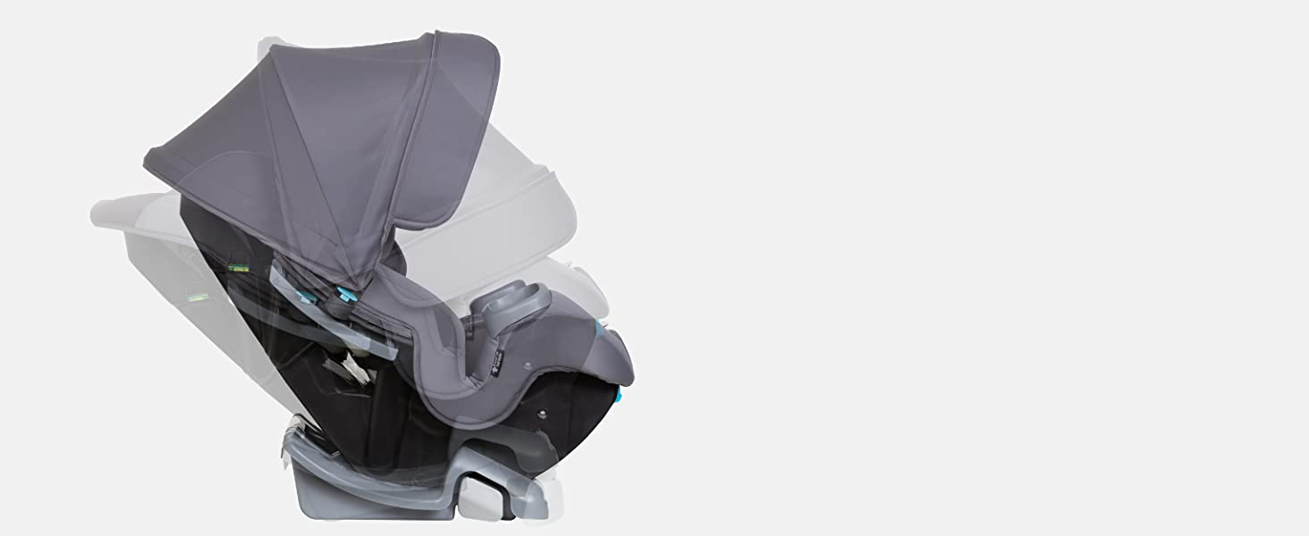 Baby Trend Cover Me 4-in-1 Convertible Car Seat comfort cabine