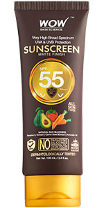 WOW Skin Science Sunscreen SPF 55