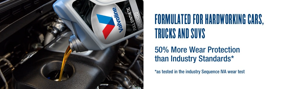 formulated for hardworking vehicles