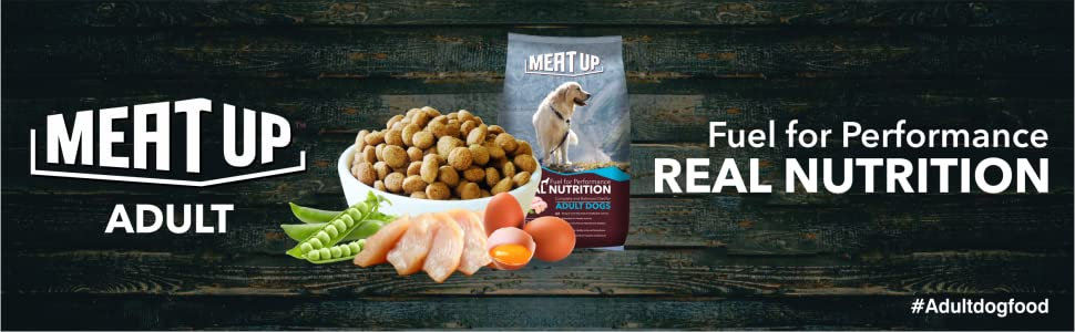 meat up , meatup , meat up dog food , adult dog