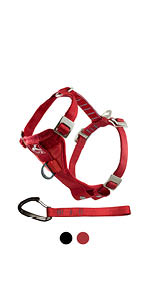 Tru-fit dog safety harness extra strength