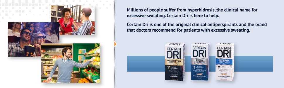 hyperhidrosis, excessive sweating, doctor recommended