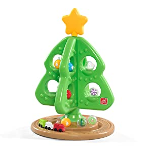 2 Christmas Tree.Step2 My First Christmas Tree With Bonus Ornaments