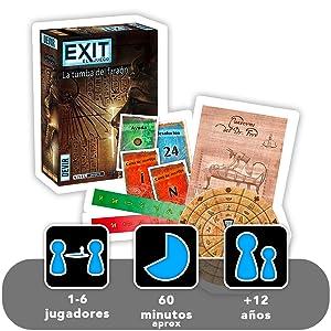 exit la tumba del faraon devir juego de mesa divertido diversion jugar regalo amigos familia