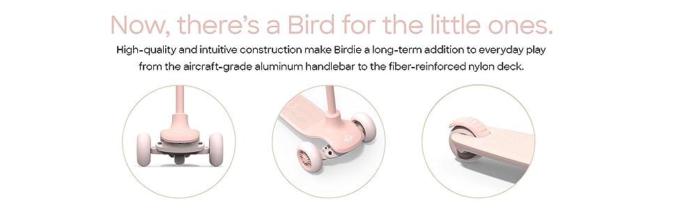 Bird Birdie Kick Scooter for Kids