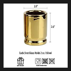 50 Caliber Shot Glass Specs
