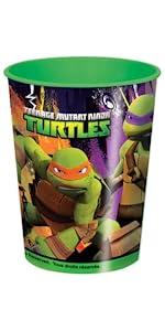 Amazon.com: Plastic Teenage Mutant Ninja Turtles Door Poster ...