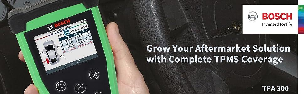 Bosch TPA 300 3934 ADS 120 TMPS Tool ADS 325 625 OTC Encore Evolve OBD Sensor Tire Pressure Monitor