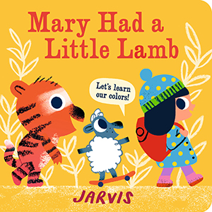 nursery rhymes; mary had a little lamb; colors; learning colors; color books; board books; concepts