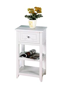 Elegant home fashions dawson collection for Chapter bathroom space saver white assembly instructions