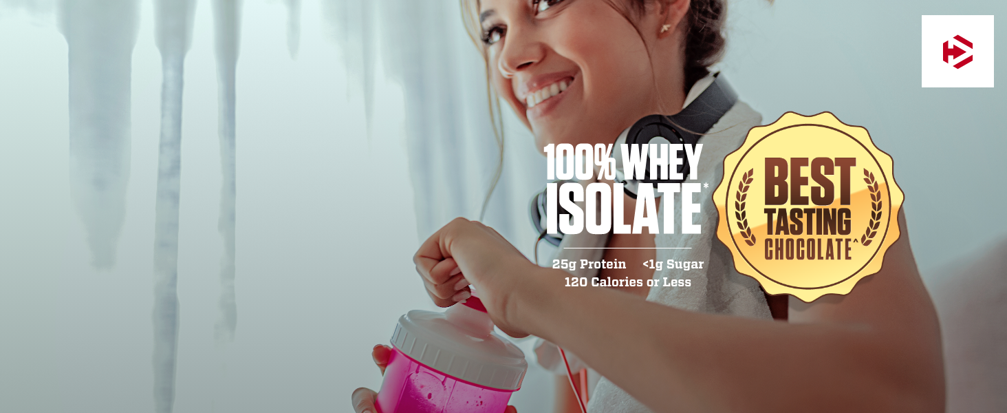 woman whey isolate protein powder delicious best tasting