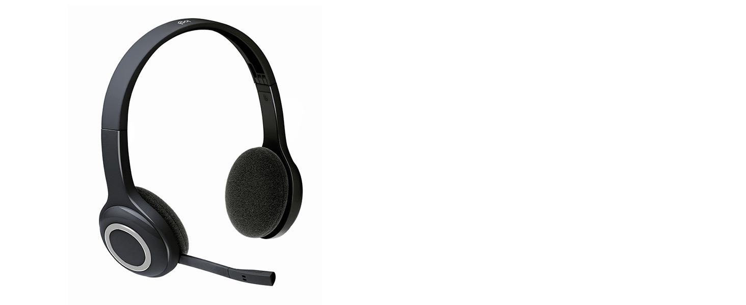 4415741b232 Logitech H600 Wireless Headset for PC and Mac: Amazon.co.uk: Office ...