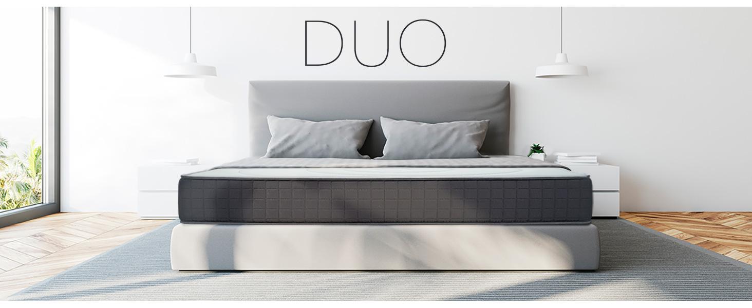 Duérmete Online Colchón Viscoelástico Duo Reversible | Altura ...
