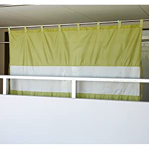 ベランダカーテン
