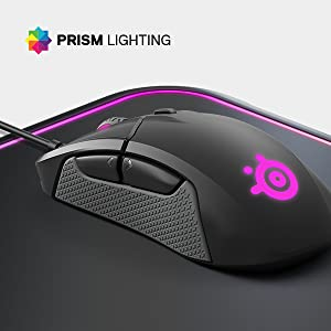 Steelseries Rival 310 Mouse Ottico da Gioco, Illuminazione RGB, 6 Pulsanti