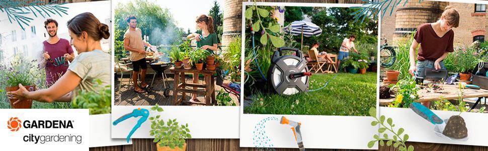GARDENA 18405-20 Pulverizador de balcón city gardening ducha de ...