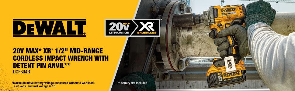 20V impact wrench