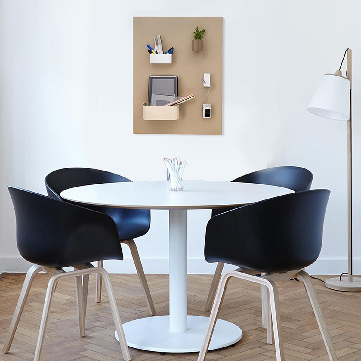 kalamitica magnettafel metall in anthrazit beschreibbar 14 x 70 cm f r magnetische. Black Bedroom Furniture Sets. Home Design Ideas
