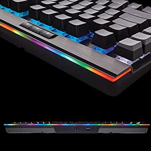 Keyboard Corsair K95 RGB Platinum Mechanical Cherry MX Brown Black - (CH-9127012-NA)