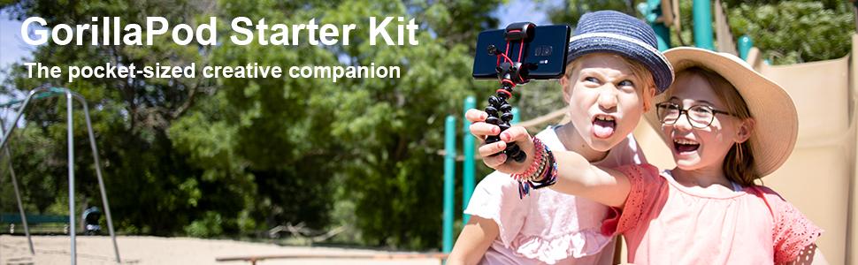 Joby, Starter kit, Gorillapod, flexible tripods