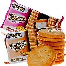 Julie's Peanut Butter / Cheese Sandwich