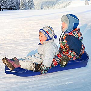 Best Choice Products Toboggan Sled