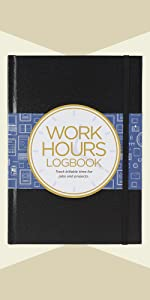 Work Hours Logbook (Track Billable Time for Jobs and Projects)