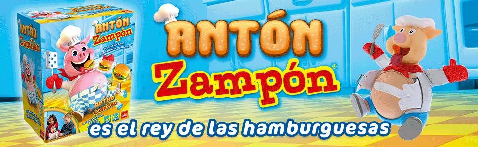 Goliath - Antón Zampon, Juego de Mesa (30.337): Amazon.es ...