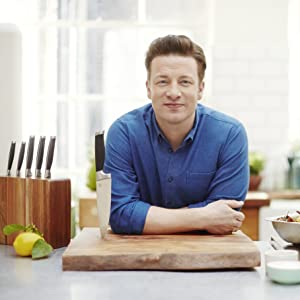 Jamie Oliver 6 Piece Acacia Knife Block Set Amazon Co Uk