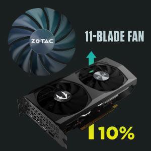 ZOTAC GAMING GeForce RTX 3060 Twin Edge OC tarjeta gráfica ZT-A30600H-10M NVIDIA Ampere