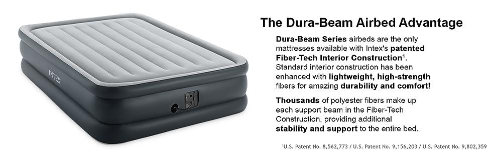 Amazon.com: Intex Dura-Beam Standard Series Essential cama ...