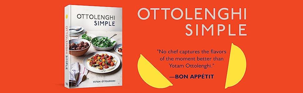 ottolenghi;ottolenghi simple;simple cookbook;james beard chef;yotam ottolenghi;bon appetit