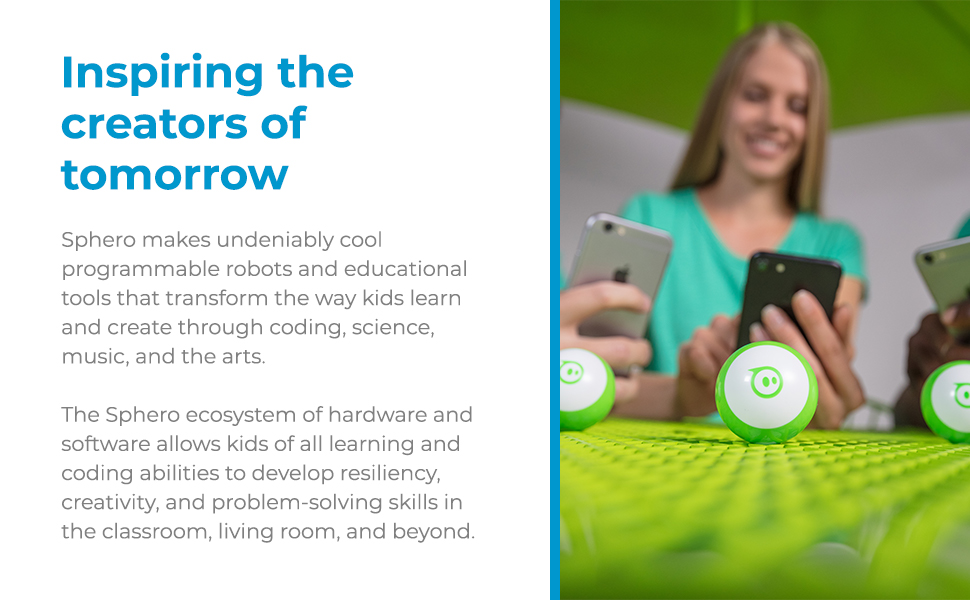About Sphero, Inspiring the Creators of Tomorrow