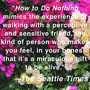 how to do nothing, gift, seattle times