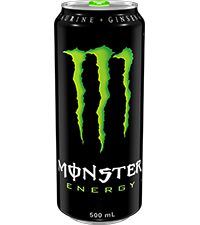 The meanest energy drink on the planet.